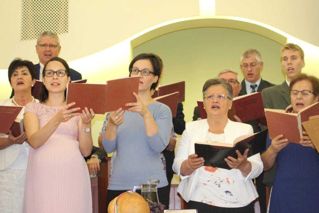 Énekkar szolgálata