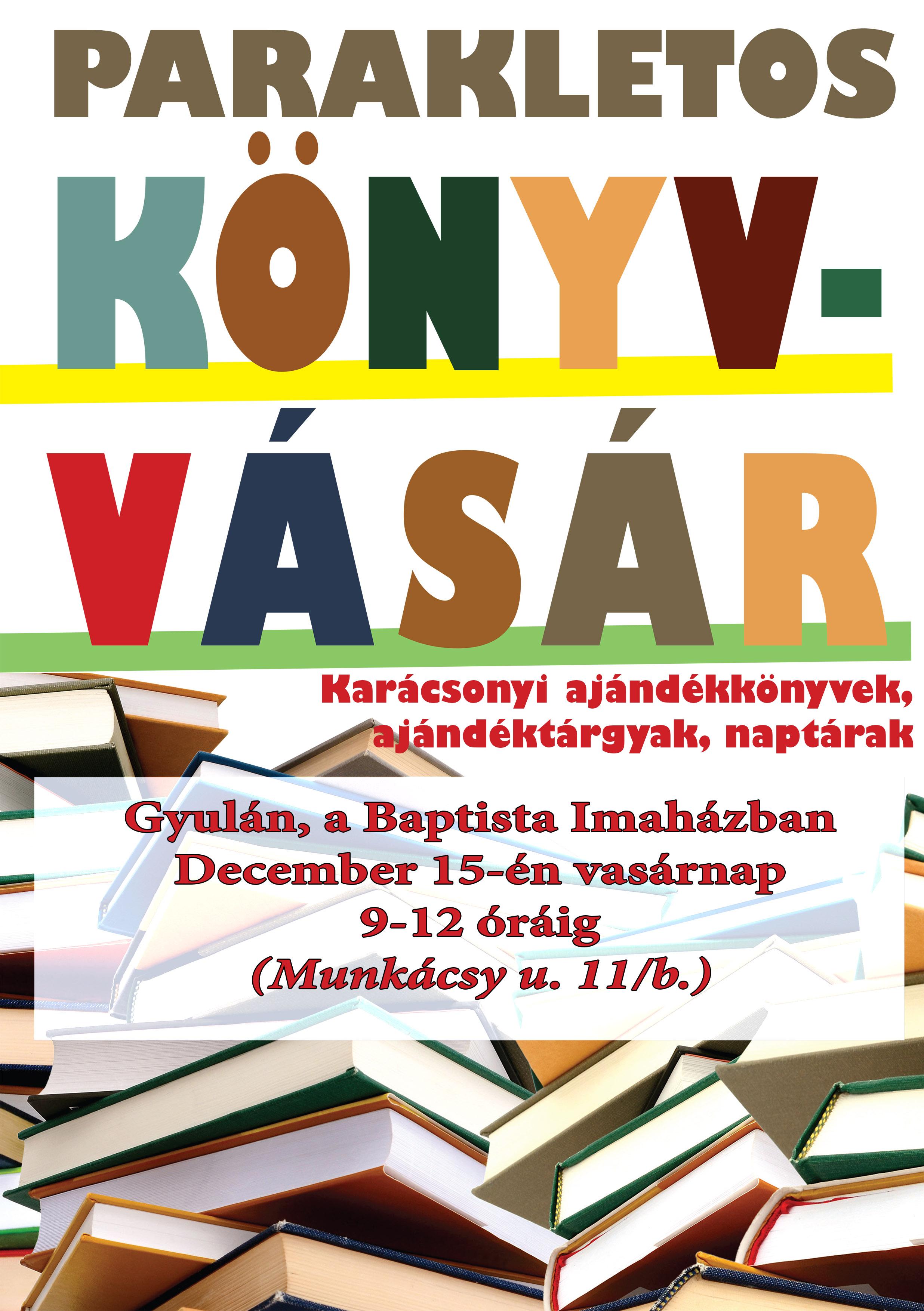 Karácsonyi könyvvásár