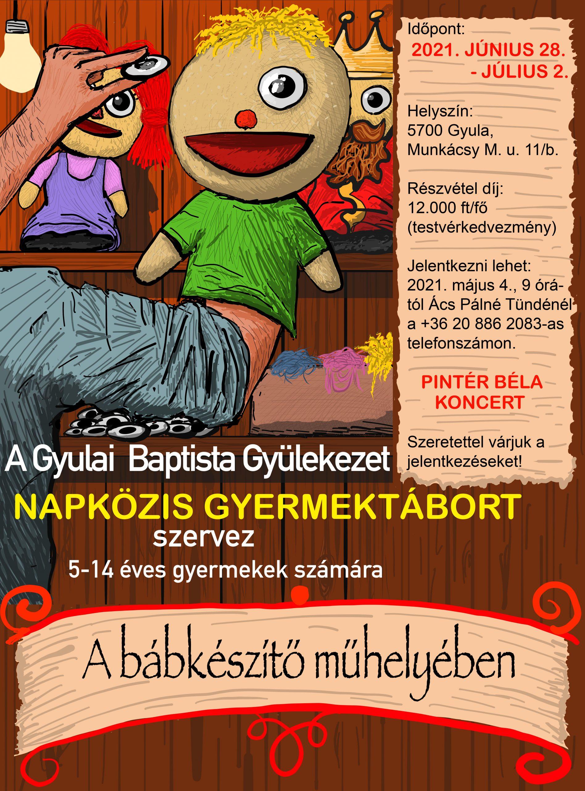 Gyermektábor 2021